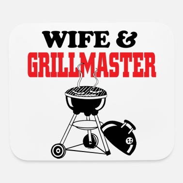 Grillmaster wife and grillmaster - Mouse Pad