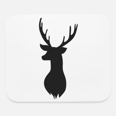 Deer Head Deer Head - Mouse Pad