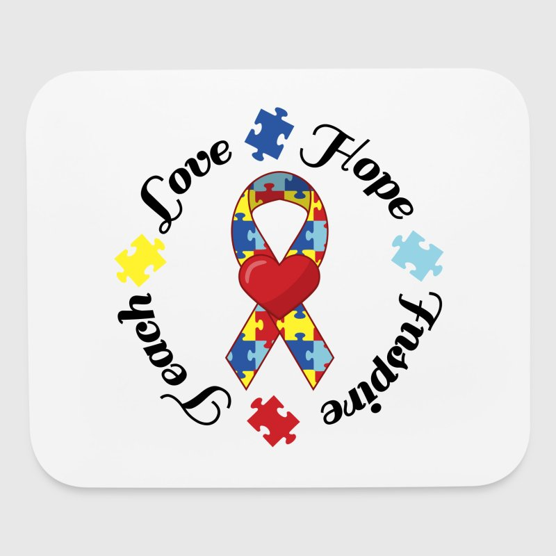 Autism Awareness - Mouse pad Horizontal