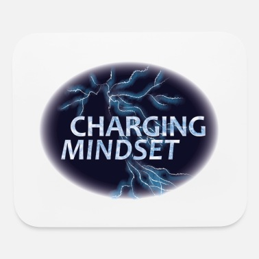 Thunderstorm Charging mindset - Flash - Mouse Pad