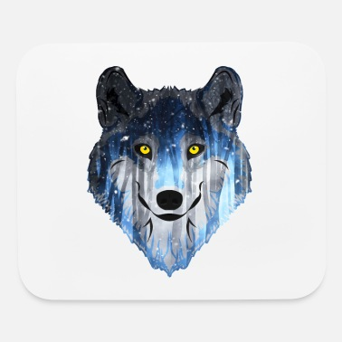 The Wolf Wolf - Mouse Pad