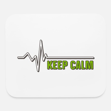 Frequency Keep Calm - Mouse Pad