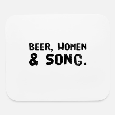 Beer Garden Beer Women & Song ***** Buddy´s beer garden - Mouse Pad
