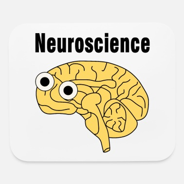 Neuroscience Neuroscience Brain - Mouse Pad