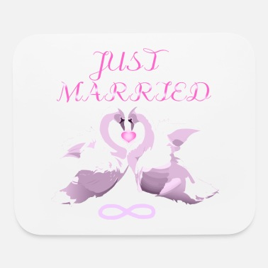 Just Married - Mouse Pad