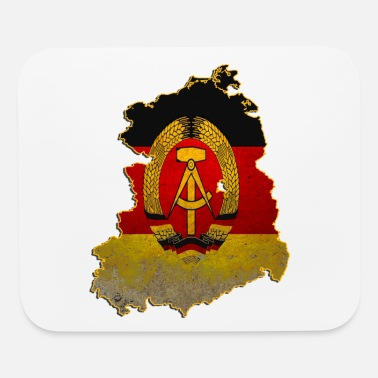 Former former east Germany the GDR ddr wall tee tshirt - Mouse Pad