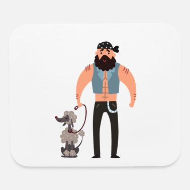 Wau Pet Dog Doggie Dogs Wau Breed Pug - Mouse Pad