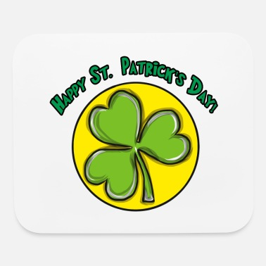 Cloverleaves St. Patrick's Day Cloverleaves - Mouse Pad