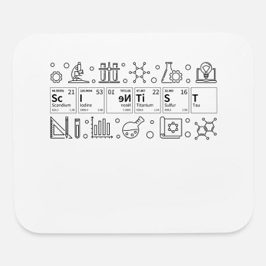 Chemie Scientist Periodic Table Geeky Science Gift Chemis - Mouse Pad