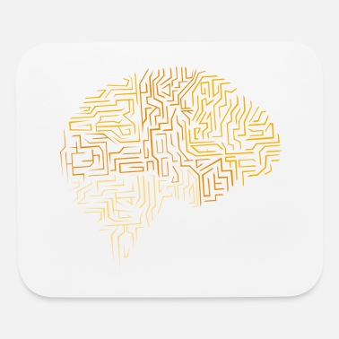 Neuroscience Neuroscience Superhuman Brain Gift - Mouse Pad