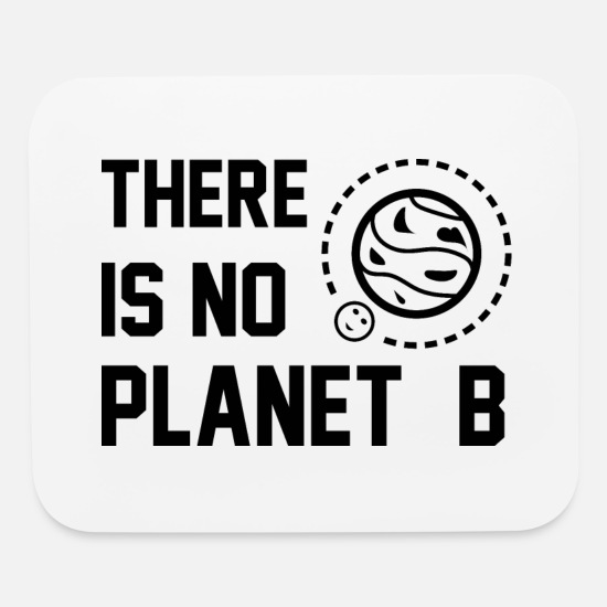 Planet Mouse Pads - Planet B - Mouse Pad white