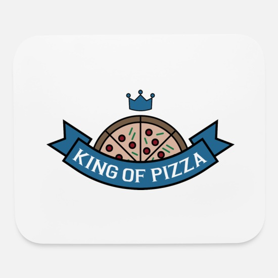 Gift Idea Mouse Pads - Pizza - Mouse Pad white