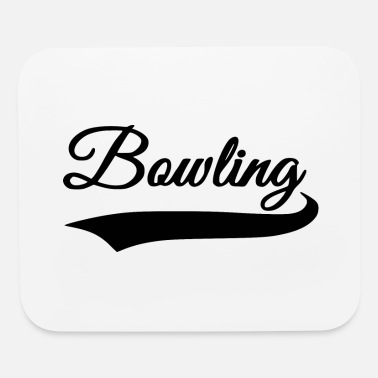 Bowling Design bowling design - Mouse Pad