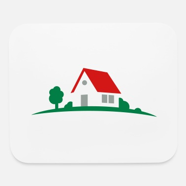 House house - Mouse Pad