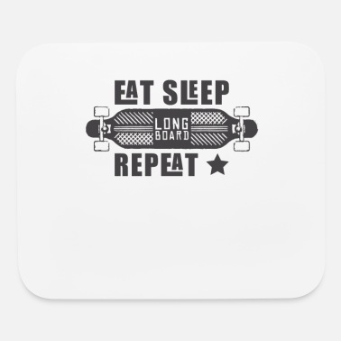 Longboard Longboard Longboarder Longboarding Gift Skater - Mouse Pad