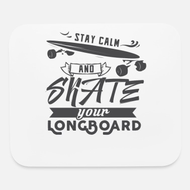 Longboard Longboarder Longboard Longboarding Gift Skate - Mouse Pad