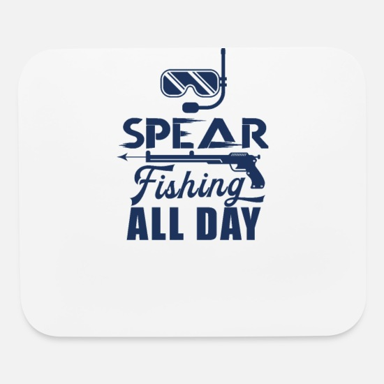 Gift Idea Mouse Pads - Spear Fisher - Mouse Pad white