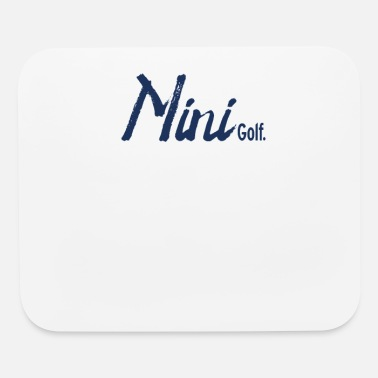 Minigolf Minigolf Golfer Minigolfing Minigolfer - Mouse Pad