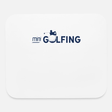 Minigolf Minigolfing Golfer Minigolf Minigolfer - Mouse Pad