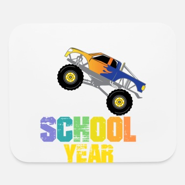 I Crushed This School Year, Boys Monster Truck - Mouse Pad