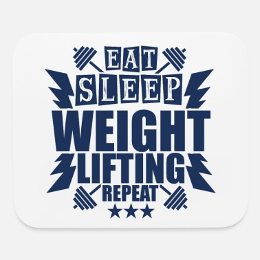 Weightlifting Weightlifting Weightlifting Weightlifting - Mouse Pad