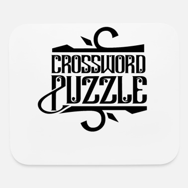 Puzzler Cross WorD Puzzles Puzzler Crossword Puzzling - Mouse Pad