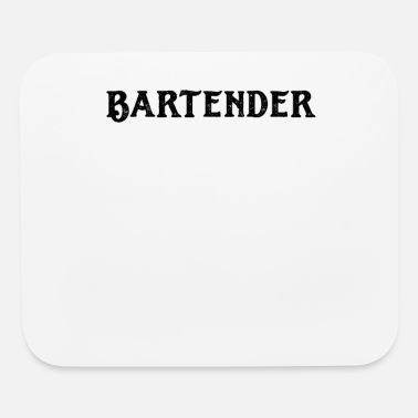 Bar Pub Waiter Barkeeper Barman Waitress Bar Pub - Mouse Pad