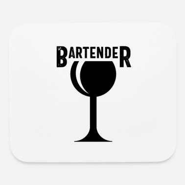 Bar Pub Bar Pub Barkeeper Barman Waiter Waitress - Mouse Pad