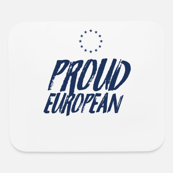 Europe Mouse Pads - Europe Election - Mouse Pad white