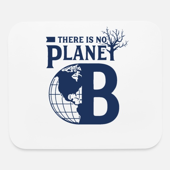 Climate Change Mouse Pads - Global Warming - Mouse Pad white