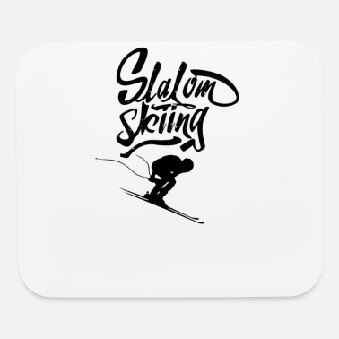 Giant Slalom Slaloms Giant Slalom Slalom Skiing Skier Race - Mouse Pad