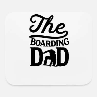 Snowboard Snowboarder Boarding Snowboard Dad Daddy Father - Mouse Pad
