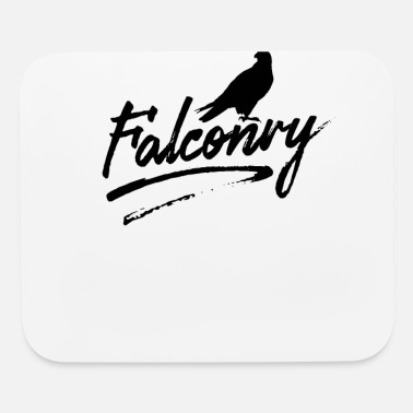 Falcon Falcon Falconry Falconer Team Falcons - Mouse Pad