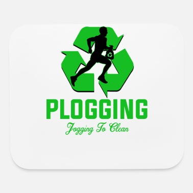 Clean Plogging Jogging to clean - Mouse Pad