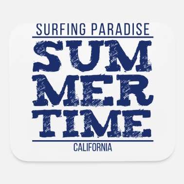 Hollywood Surfing Paradise Summertime - Mouse Pad
