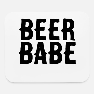 Beer Garden beer girl woman beer drinker beer garden to drink - Mouse Pad
