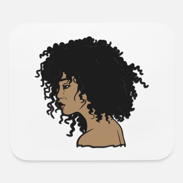 Hair My Afro - Natural Hair - Afrocentric Gift - Mouse Pad