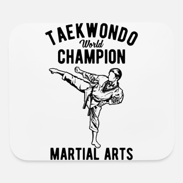 World Taekwondo World Champion Martial Arts - Mouse Pad