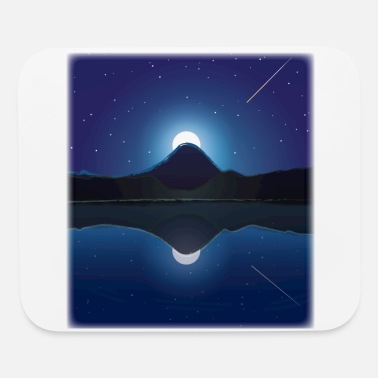 Moon Mountain moon scenery - Mouse Pad
