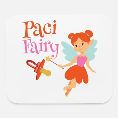 Binky Fairy Paci Fairy: Cute Pacifier Fairy Shirt for Girls - Mouse Pad