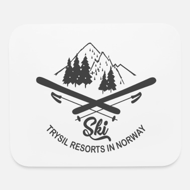 Ski Resort Ski Trysil Resorts in Norway - Mouse Pad