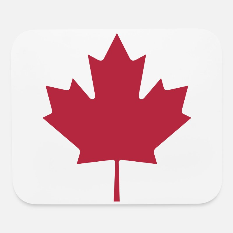 Canada Mousepads  - Canadian Maple Leaf - Mouse Pad white