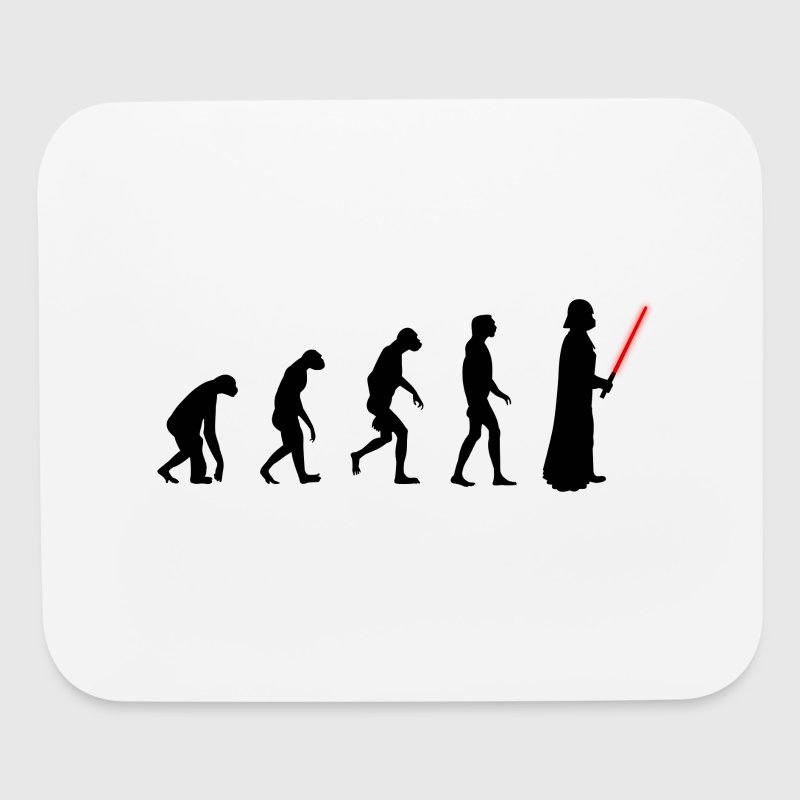 Evolution of the dark side - Mouse pad Horizontal