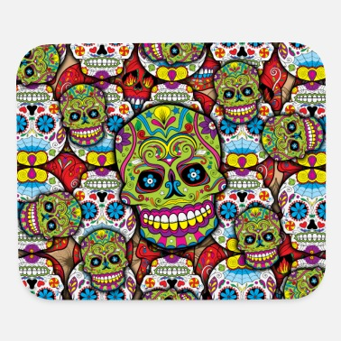 Sugar Skulls - Mouse pad Horizontal