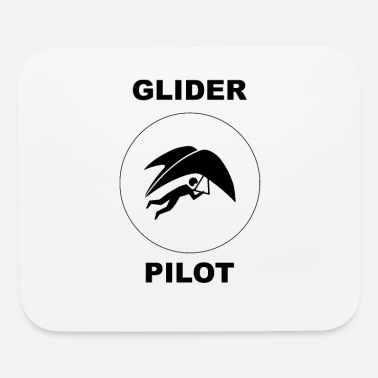 Glider Pilot Glider Pilot Flying - Mouse Pad