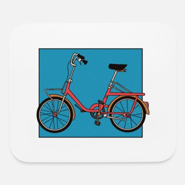 Folding Bike folding bike - Mouse Pad