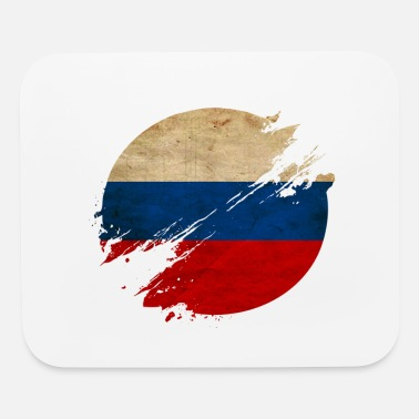 Russian Circles Russia Vintage Circle / Flag - Mouse Pad