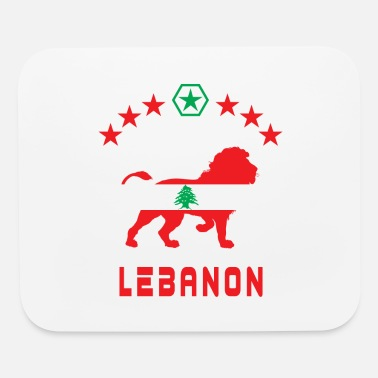 Tyros Lebanon Lions flags Design / Gift - Mouse Pad