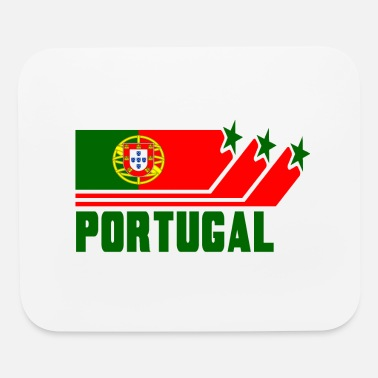 Portuguese Angola Portugal Design with Flag - Mouse Pad