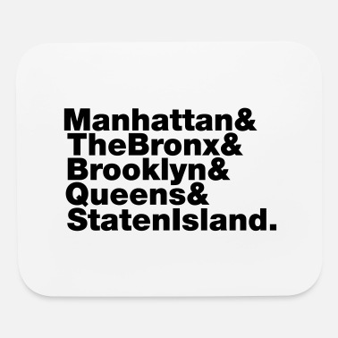 5 Boroughs 5 Boroughs ~ New York City - Mouse Pad